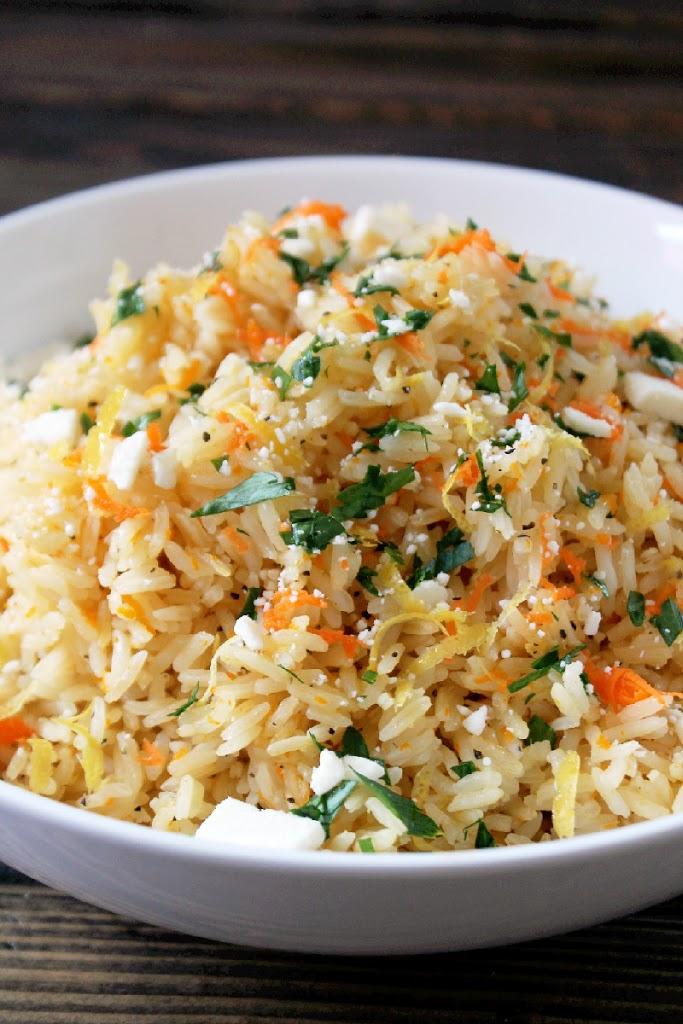 Lemon Rice Pilaf Greek Rice PilafLemon Rice Pilaf