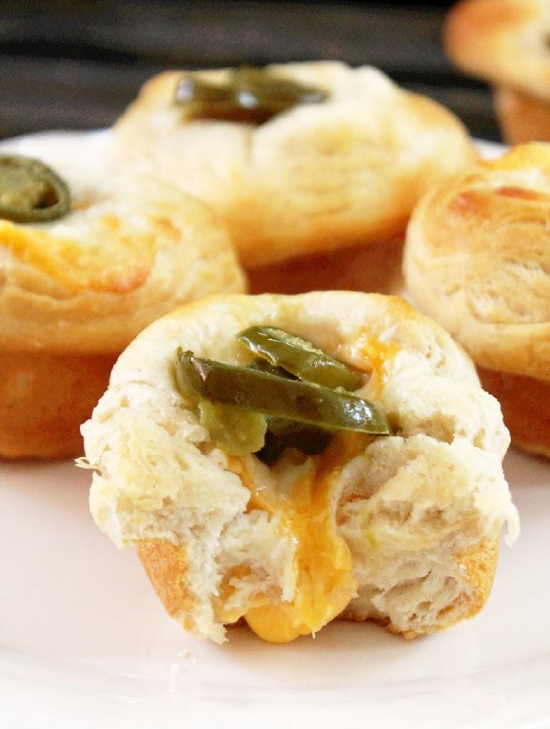 Jalapeno Jelly And Brie Mini Popovers Recipes — Dishmaps
