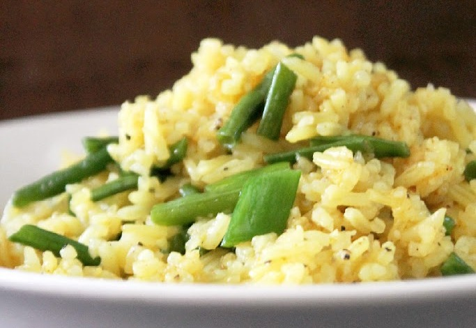 Indian-Fried-Rice-with-Green-Beans-3-